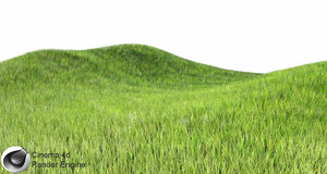 dynamic grass c4d