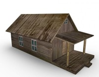 old farm house 3d model