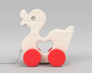 3ds duck toy