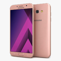 samsung galaxy a7 2017 3d 3ds