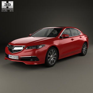 3d acura tlx 2014