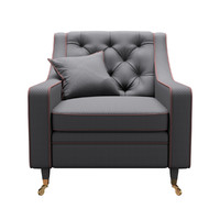 3d realistic asnaghi brera armchair