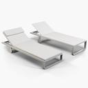 Gandia Blasco Flat chaise longue