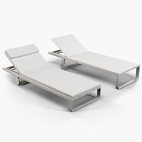 Gandia Blasco Flat chaise longue