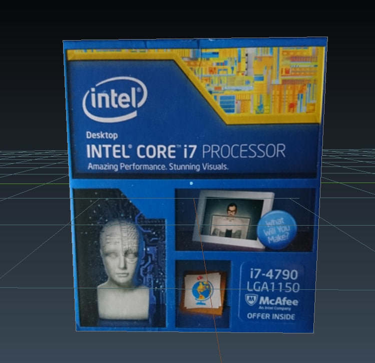 free fbx model intel i7 box