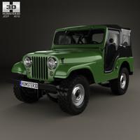 3d model jeep cj-5 cj