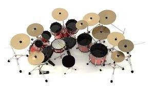 drums 3d 3ds