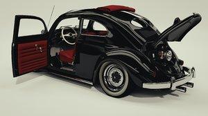 3d beetle 1952 custom model