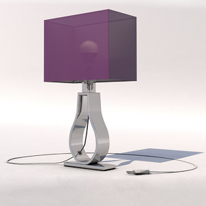 lamp table klab 3d model