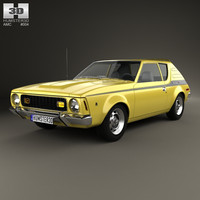 3d model amc gremlin 1970