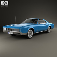 buick riviera 1966 3ds