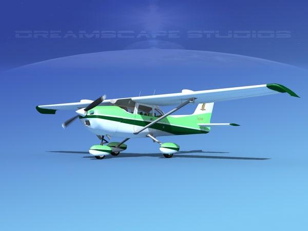 cessna 172 stol skyhawk dxf
