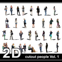 Cutout people Vol.1