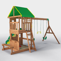Oakmont All Cedar Swingset