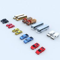 3d max cars mobile games