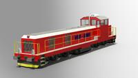 dxf diesel train engine