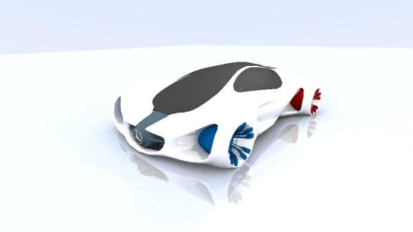 mercedes benz 3d model