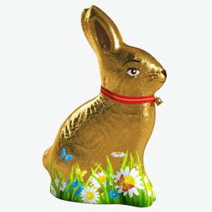 3d model chocolate easter bunny tinfoil