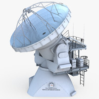 3d model of array antena