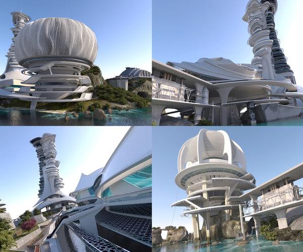 3d city future 6