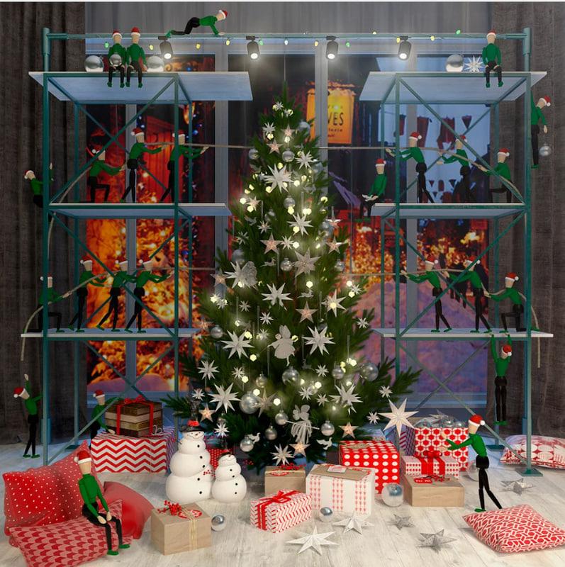 3d christmas fairytale