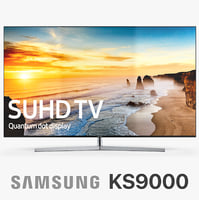samsung 4k suhd tv 3d model