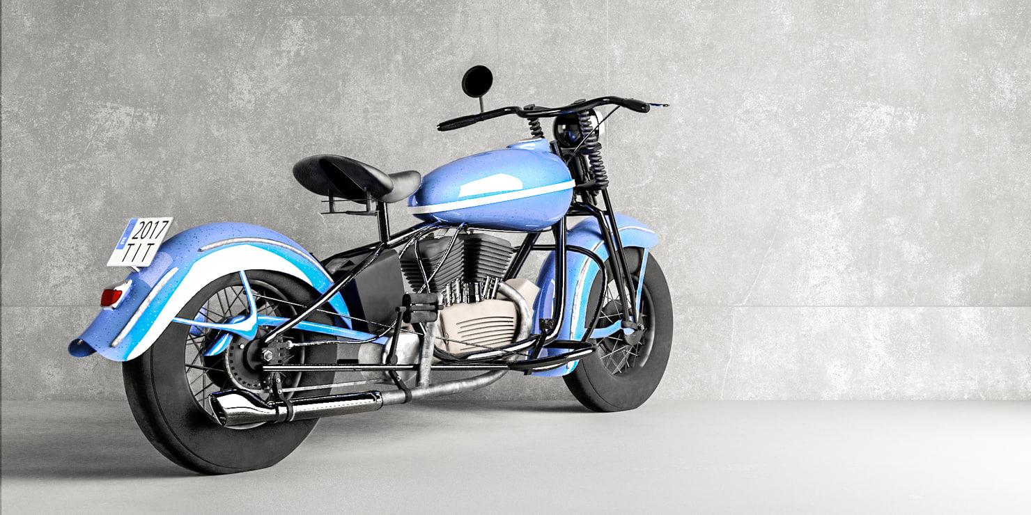 max motorbike harleylike