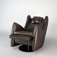 3d model fendi selleria spa armchair