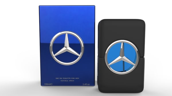 3d model mercedes benz mens fragrance
