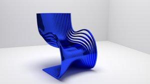 metal chair blend