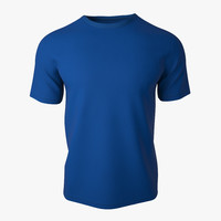 T Shirt V2 (Blue solid)