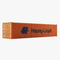 3d 40 feet container o