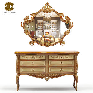 realistic chest drawers mirror 3d max