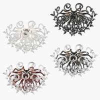 3d chandelier medusa