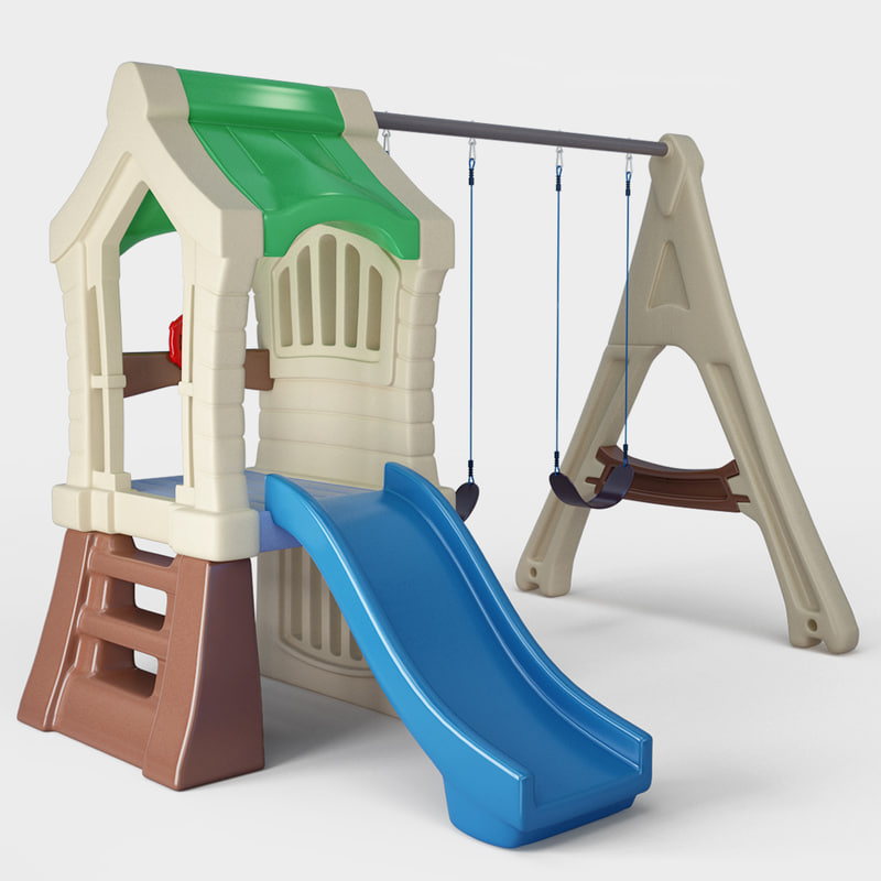 play gym sey swing set 3d max