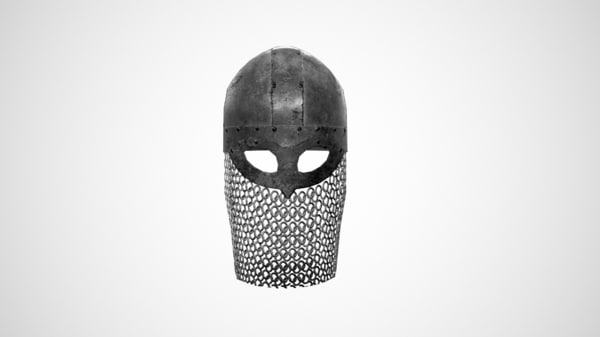 3d viking helmet model