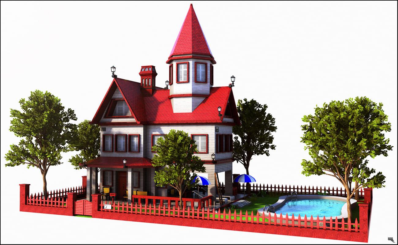 3d house home building