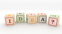idea toy blocks 3d model