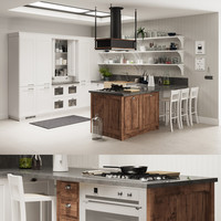 3d model kitchen scavolini