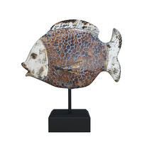 3d obj decorative ceramic fish