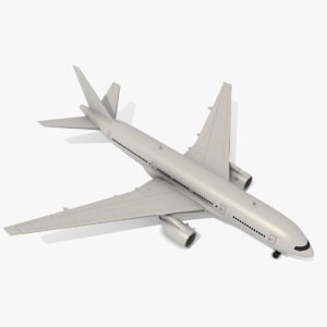 boeing airliner 3d model