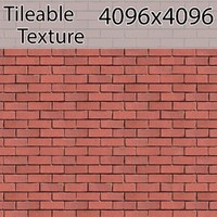 Perfectly Seamless Texture Brick 00059