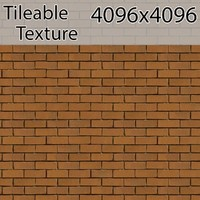 Perfectly Seamless Texture Brick 00060