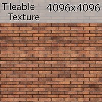 Perfectly Seamless Texture Brick 00066