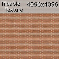 Perfectly Seamless Texture Brick 00071