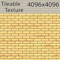 Perfectly Seamless Texture Brick 00074