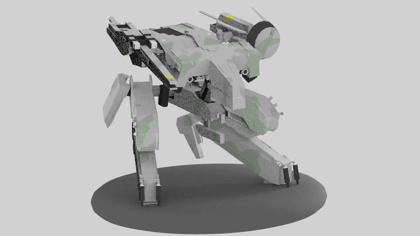 obj metal gear rex