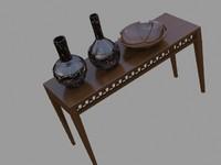 3d model console artefacts