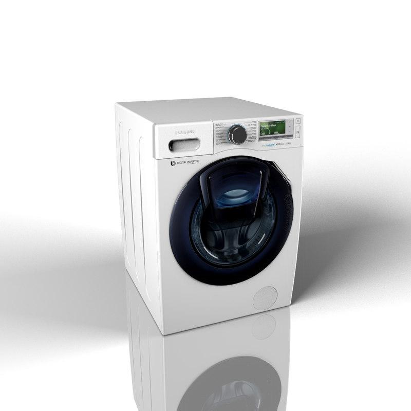 3d samsung addwash wd90k6400ow model