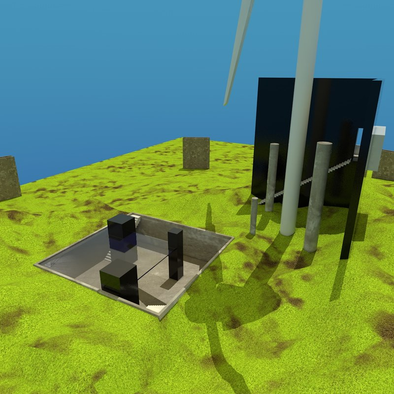 level watch tower 3d 3ds